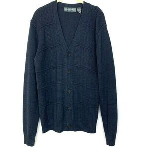 Oscar De La Renta Button Up Sweater